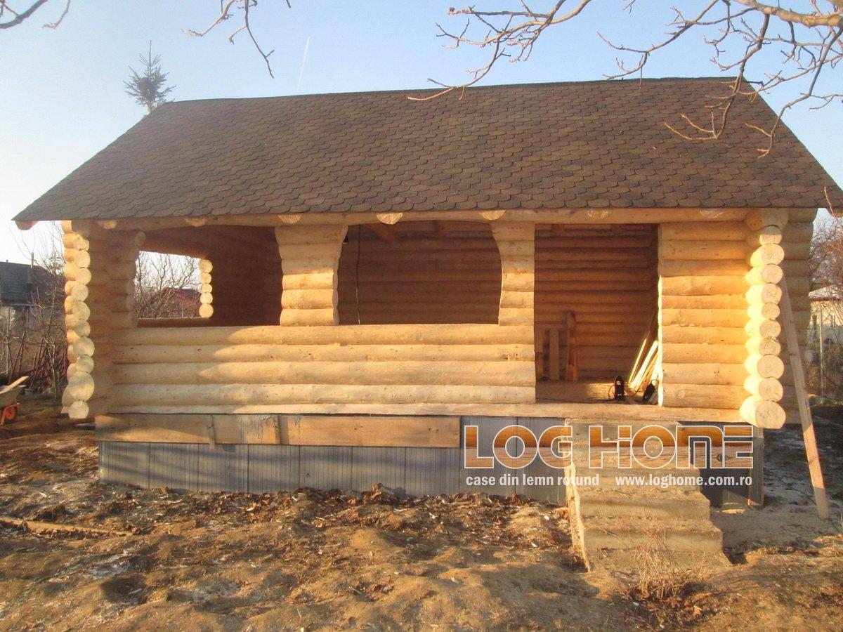 De ce este o casa din lemn rotund un mediu sanatos pentru for Case de lemn rotund