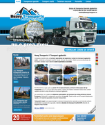 Heavy Transports website design