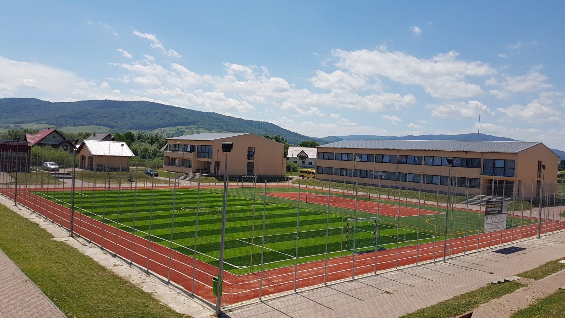 Terenuri sport Vicov, jud Suceava