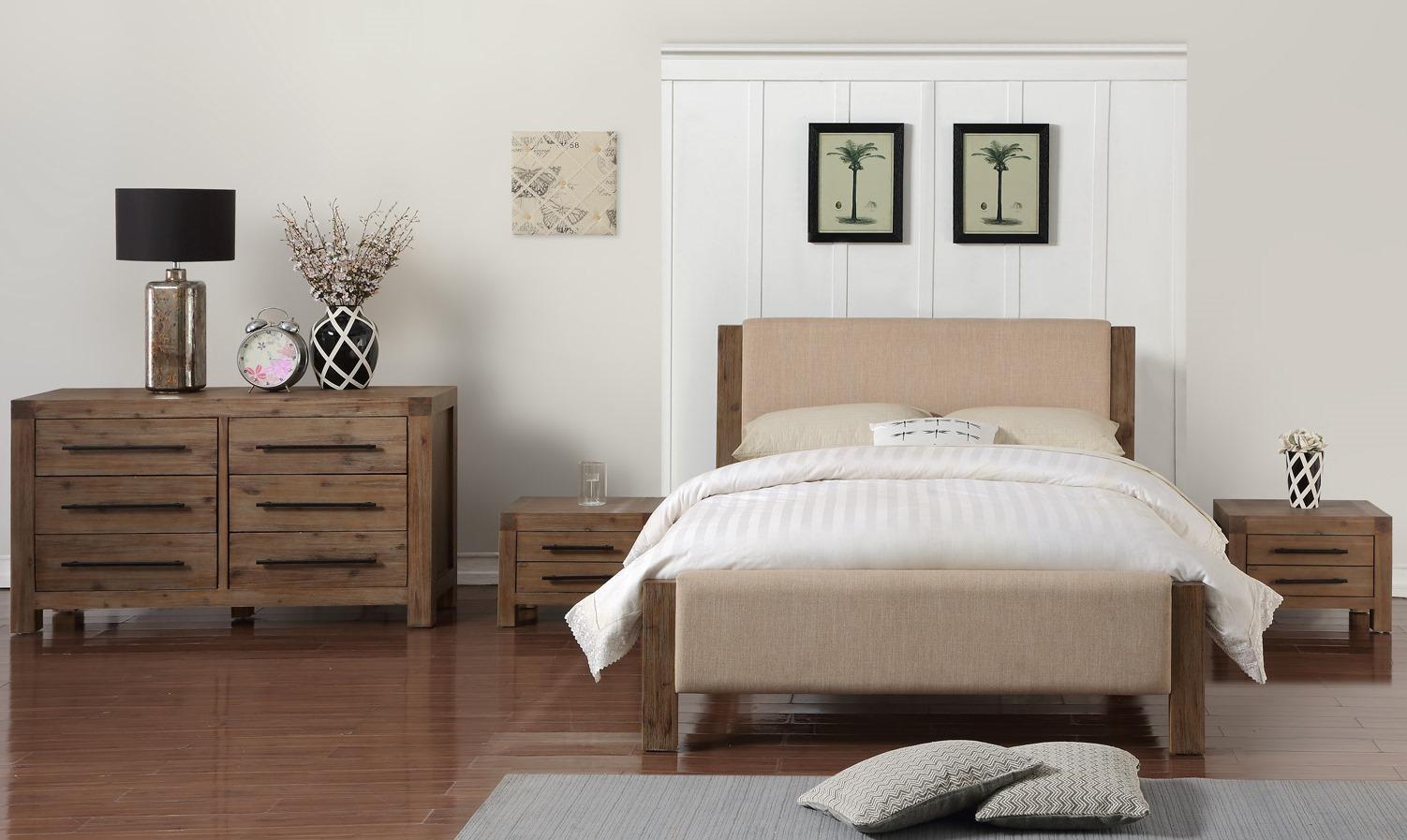mobila din lemn masiv pentru dormitor Atlanta