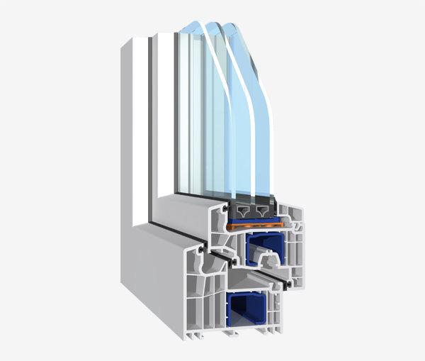 Profil PVC BluEvolution 92