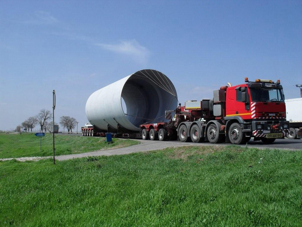 trailer transport agabaritic international